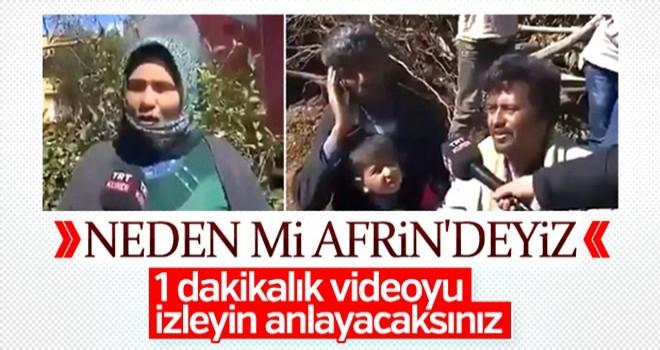 Afrinliler Türk askerine ve ERDOĞAN'a duacı