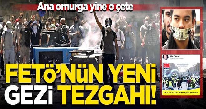 FETÖ'nün yeni Gezi tezgahı! Daha büyük 'çatı' oluşturma çabası