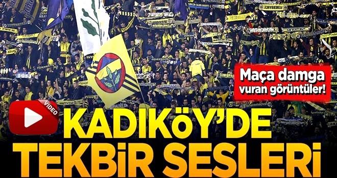 Maça damga vuran görüntüler! Kadıköy'de tekbir sesleri