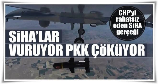 SİHA'lar PKK'nın kâbusu oldu