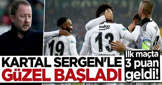 Beşiktaş, Rize'den 3 puanla döndü