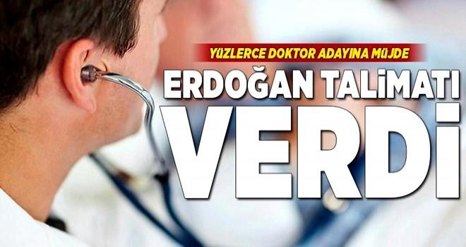 Yüzlerce doktor adayına müjde .