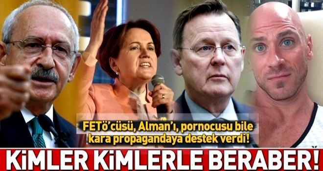 Almanya'dan CHP-HDP-Saadet Partisi-İYİ Parti-FETÖ ittifakına açık destek! .