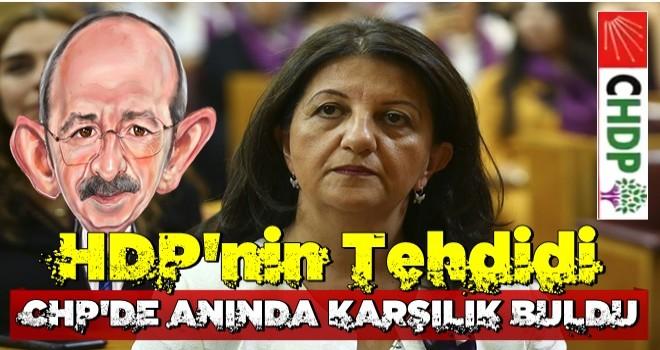 HDP'nin tehdidi CHP'de anında karşılık buldu! CHP'den Meclis'te skandal öneri.