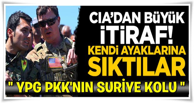 CIA'den itiraf gibi YPG raporu: PKK'nın Suriye kolu
