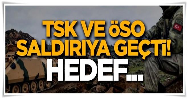 TSK ve ÖSO güçleri Afrin'de saldırıya geçti: Hedef Raco