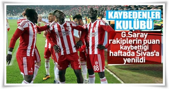 Galatasaray, Sivas deplasmanında fırsat tepti!