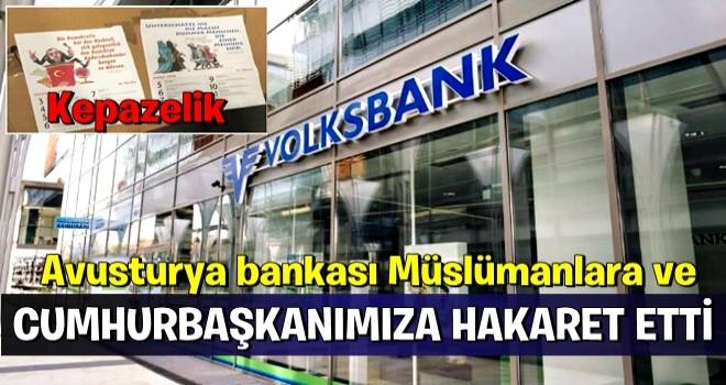 Avusturya halk bankası'ndan KEPAZELİK !