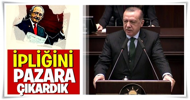 Cumhurbaşkanı Erdoğan AK Parti Grup Toplantısında