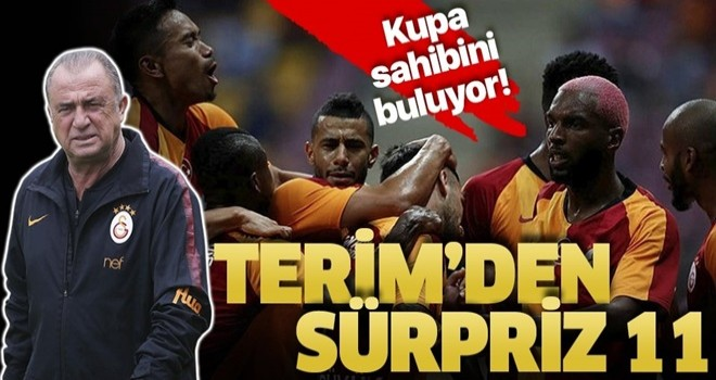 Fatih Terim'den kadro sürprizi! Galatasaray'ın Akhisarspor 11'i belli oldu!