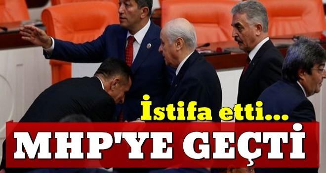 İP'ten istifa eden Hayati Arkaz MHP'ye geçti!