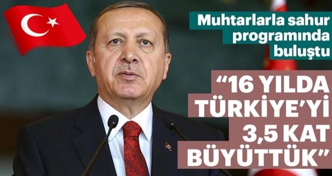 Cumhurbaşkanı Erdoğan: Biz bu ülkenin hizmetkarı olacak bir nesil yetiştirmek istiyoruz
