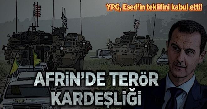 'YPG, kontrolü Esed'e bırakıyor' iddiası! .