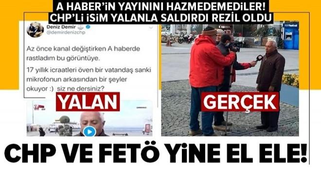 CHP ve FETÖ'den algı operasyonu! A Haber'in yayınını hazmedemediler .
