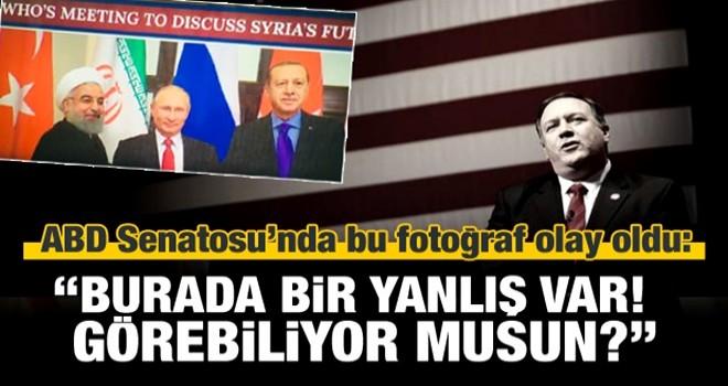 ABD Senatosu'nda Pompeo'yu 'Erdoğan'la terlettiler