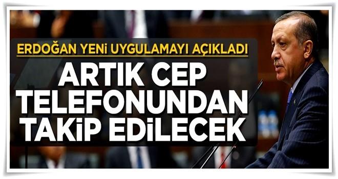 Erdoğan, gümrüklerdeki yeni uygulamayı açıkladı