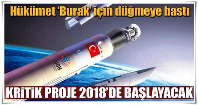 Uydumuzu BURAK fırlatacak