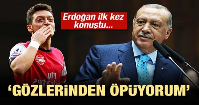 Başkan Erdoğan'dan Mesut Özil yorumu!