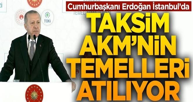 Başkan Erdoğan'dan İstanbullulara Müjde: Rami Kışlası Kütüphane Olacak