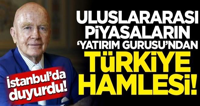 Uluslararası piyasalar 'yatırım gurusu'ndan Türkiye hamlesi!