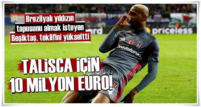 Talisca için 10 milyon euro