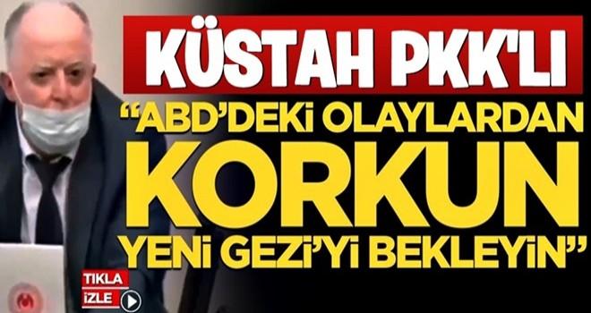 HDP İstanbul Milletvekili Musa Piroğlu'ndan küstah tehdit: ABD'deki olaylardan korkun, yeni Gezi'yi bekleyin