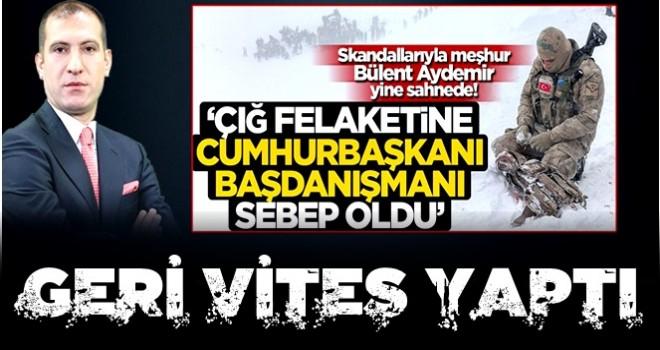 """CHP ve yandaşı medyada yalan """"çığ"""" gibi! Bülent Aydemir tepkilerin ardından çark etti"""