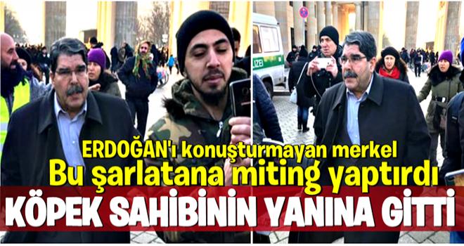 Çekya'nın serbest bıraktığı Salih Müslüm Berlin'de ortaya çıktı!