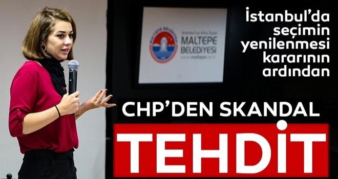 YSK'nın iptal kararınından CHP'den skandal tehdit