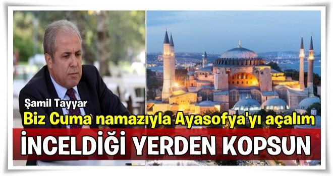 Kudüs'e karşılık Ayasofya Camii mi açılacak?