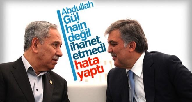 Abdullah Gül'ün adaylığı Bülent Arınç'a soruldu