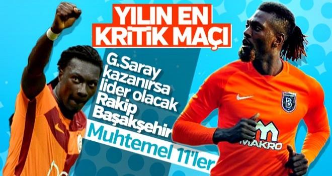 Galatasaray-Başakşehir maçı muhtemel 11'leri