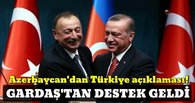Azerbaycan'dan Türkiye açıklaması!