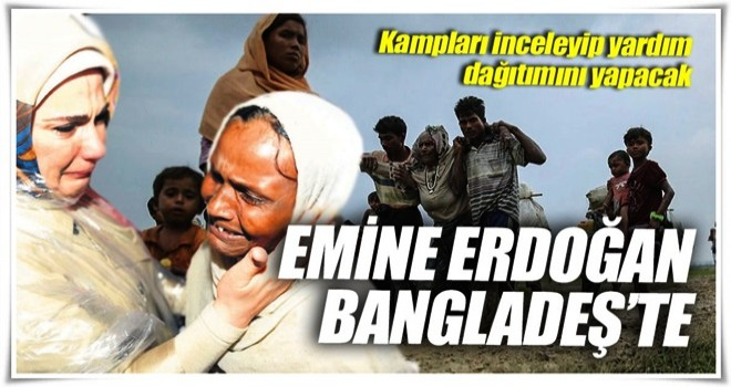Emine Erdoğan Bangladeş'te