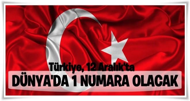 Bakan Zeybekci: Türkiye, 12 Aralık'ta dünyada 1 numara olacak
