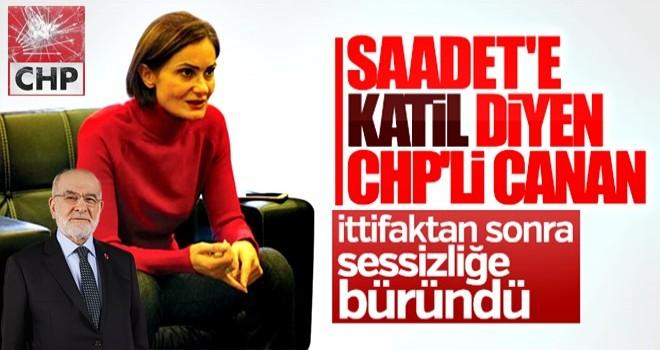 Canan Kaftancıoğlu'nun Temel Karamollaoğlu tweet'i
