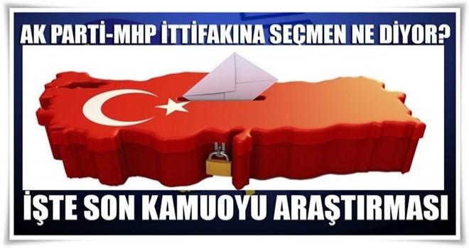 AK Parti-MHP ittifakına seçmen ne diyor?