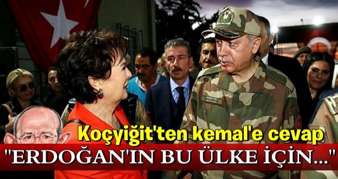 Hülya Koçyiğit'ten Kılıçdaroğlu'na yanıt .