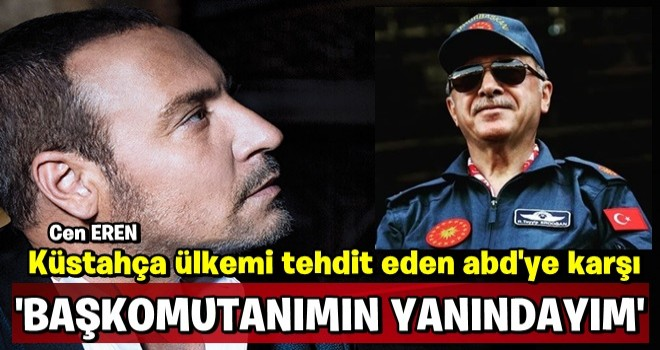 Cenk Eren Başkomutan Erdoğan'a destek verdi linç yedi..