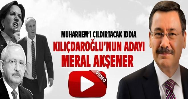 Melih Gökçek'ten bomba iddia: Kılıçdaroğlu'nun adayı Meral Akşener