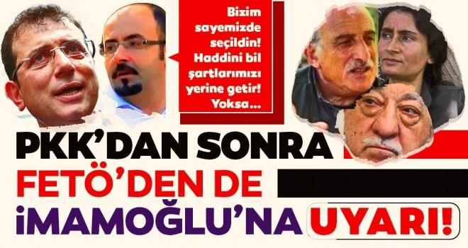 PKK'dan sonra FETÖ'nün İT'i de İmamınoğlu'nu tehdit etti