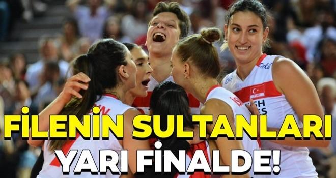 Filenin Sultanları yarı finalde