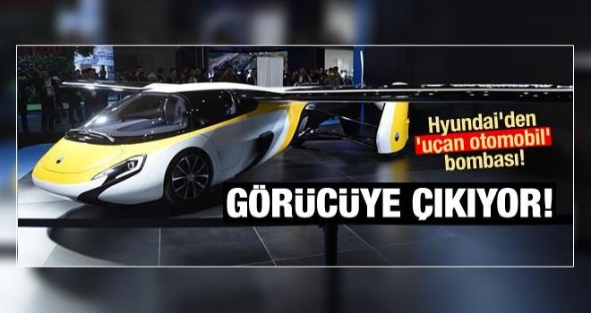 Hyundai'den 'uçan otomobil' bombası! Görücüye çıkıyor