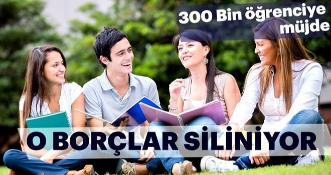 300 bin öğrenciye kredi borcu müjdesi