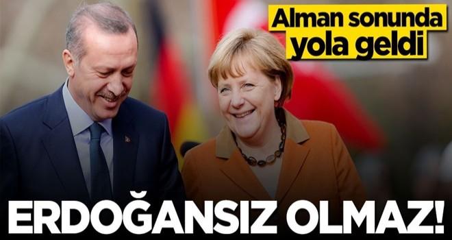 Alman Bild Gazetesi Merkel'e böyle seslendi: ''Erdoğansız olmaz''