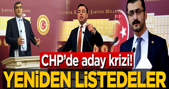 CHP'de kriz! O isimler yeniden alındı