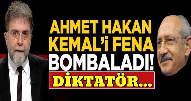Ahmet Hakan Kılıçdaroğlu'nu fena bombaladı! Zehir zemberek sözler