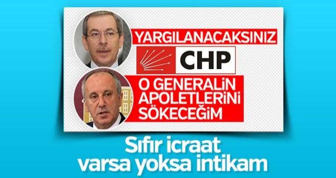 CHP tehditlerine devam ediyor