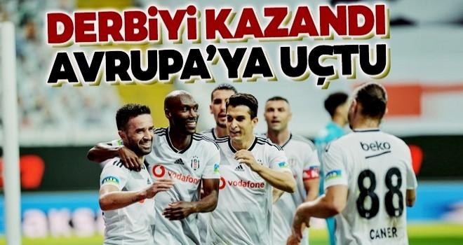 Beşiktaş sezonun son derbisinde Fenerbahçe'yi yendi! Beşiktaş 2-0 Fenerbahçe