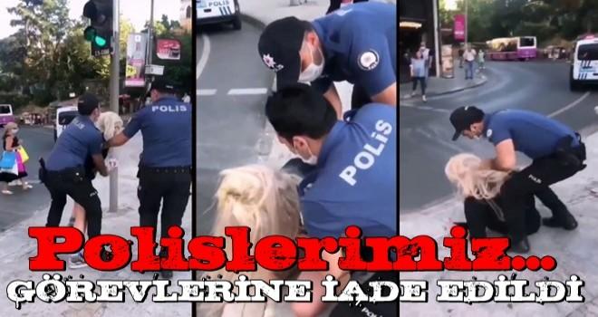 Kadıköy'deki olay sonrası polislerimiz görevlerine iade edildi